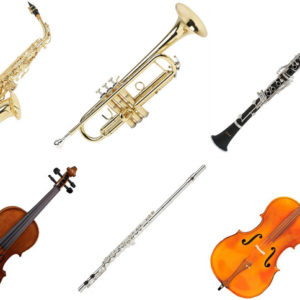 School/Band Instruments